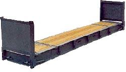 40 футовый контейнер - платформа